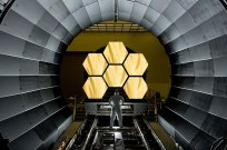 The James Webb Space Telescope will ride an Ariane 5 ECA booster out of Earth's gravity well. Photo Credit: NASA