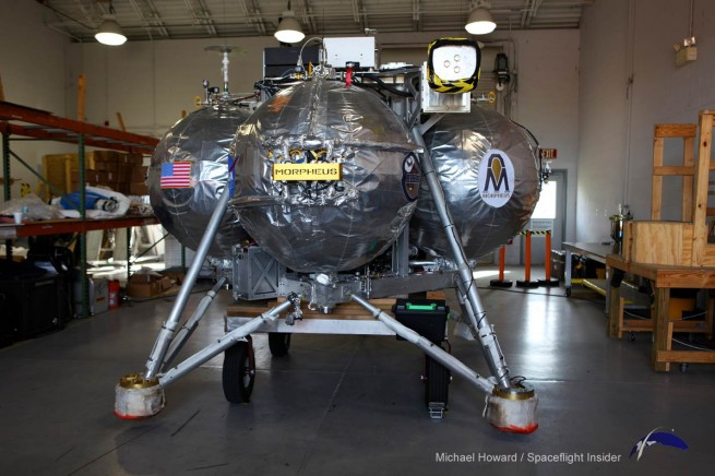 One of the key aspects of the Morpheus project is the low cost of the program. The lander cost $750,000 - considered to be a low amount for a flight test article. Photo Credit: Mike Howard / SpaceFlight Insider