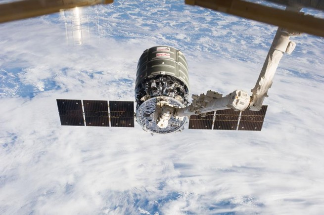 NASA has made progress in terms of ceding control of delivering cargo to the International Space Station to commercial companies such as Orbital Sciences Corporation. Its Cygnus spacecraft, seen here, has already conducted two missions to the orbiting laboratory. Photo Credit: NASA