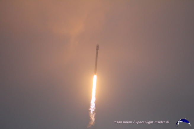 SpaceX has a busy launch manifest slated for this year with some 10 missions for a wide range of customers. Photo Credit: Jason Rhian / SpaceFlight Insider