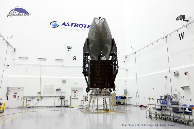 TDRS-L is part of a trifecta of NASA's space communications satellites. The third, TDRS-L is scheduled to launch in 2015. Photo Credit: Mike Howard / SpaceFlight Insider