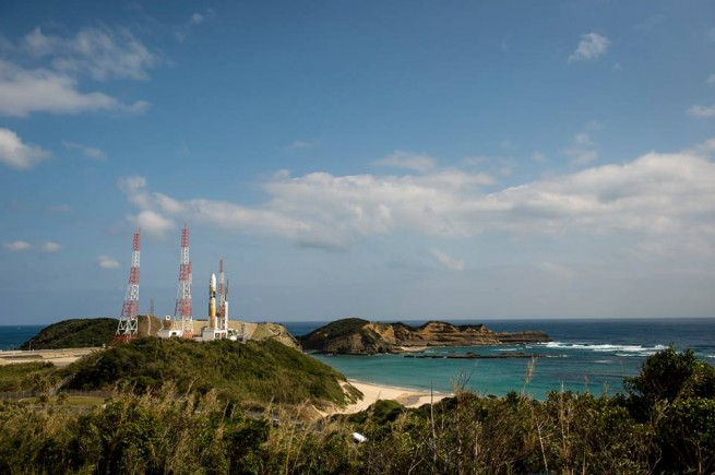 Launch Pad 1 at Tanegashima Space Center in Japan. Photo Credit: Bill Ingalls / NASA