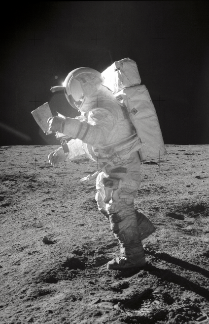 Mitchell flew to the Moon as the Lunar Module pilot on Apollo 14 in 1971. Photo Credit: NASA