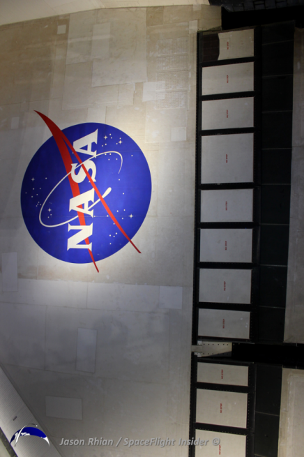 NASA was directed to retire its fleet of orbiters and develop a new spacecraft, one designed to travel beyond the orbit or Earth to distant destinations such as the Moon, an asteroid and one day - Mars. Photo Credit: Jason Rhian / SpaceFlight Insider