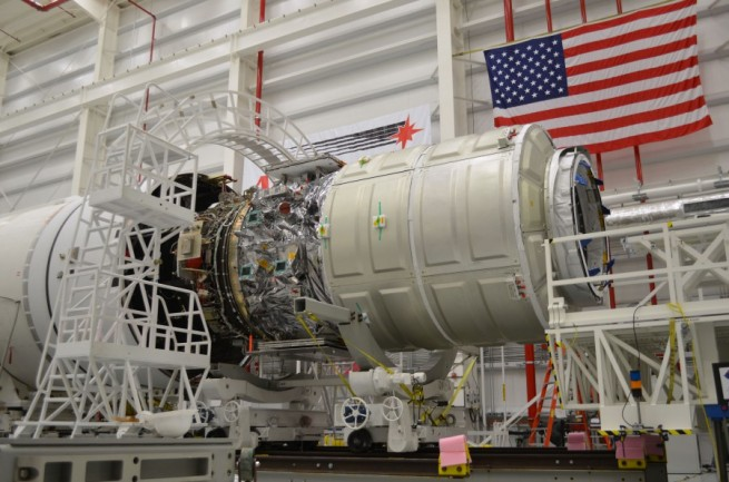 ATK also produces the Castor rocket used on Orbital Sciences Corporation's Antares rocket upper stage. Photo Credit: NASA