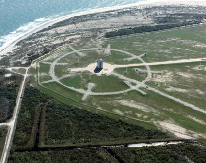 Cape Canaveral Air Force Station's Space Launch Complex 46. Photo Credit: U.S. Air Force Space and Missile Museum