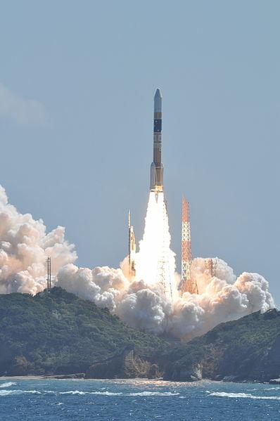 An H-IIA lifts off from Tanegashima Space Center in Japan. Photo Credit: Narita Masahiro