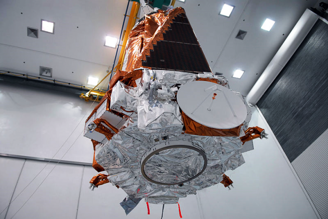 Kepler space telescope prior to launch as seen on Spaceflight Insider