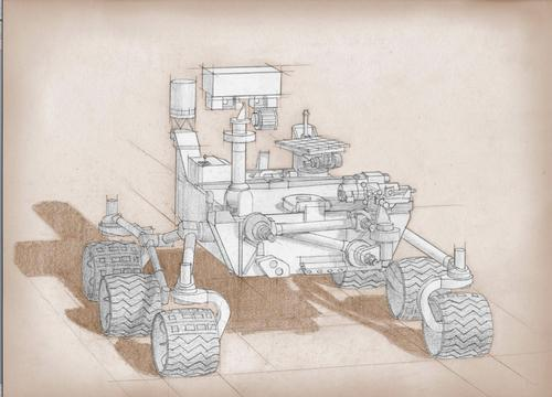 Younes stated that while the possibility of the laser data relay technology being placed on NASA's Mars 2020 rover was under review - that it was more likely he would wait for the launch of the next Martian orbiter, which should take place in 2022. Image Credit: NASA  / JPL-Caltech / MSSS