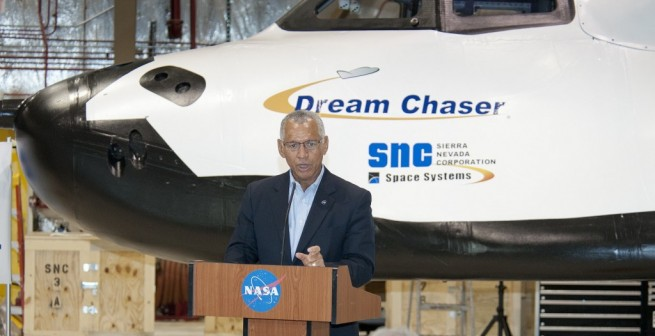 Appointed NASA officials, such as NASA Administrator Charles Bolden have expressed strong public support for NASA's new push toward more commercial ventures. Photo Credit: Ken Ulbrich / NASA