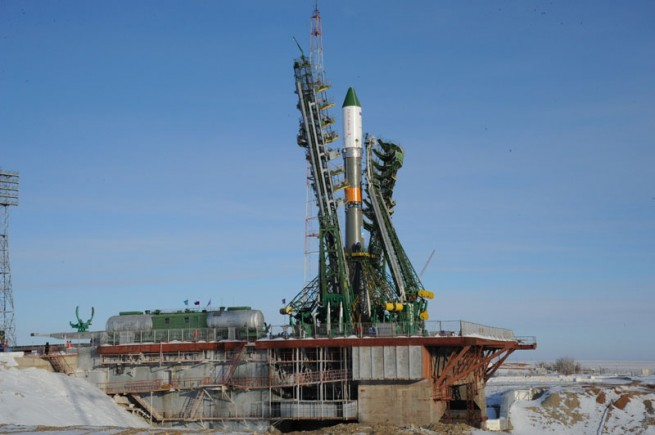 Launch of the Progress 54 spacecraft is currently set for 11:23 a.m. EST (16:23 GMT). Photo Credit: Energia