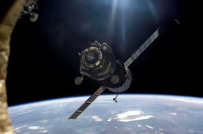 A Progress spacecraft on approach to the ISS. Photo Credit: NASA
