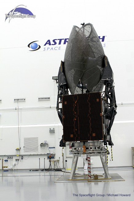 TDRS-K, L (seen here) and M are the third generation of TDRS spacecraft which began operating in 1983. Photo Credit: Mike Howard / SpaceFlight Insider