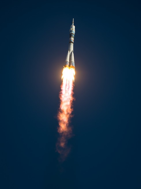 The Expedition 38 crew launched to the International Space Station in November of 2013. Photo Credit: NASA