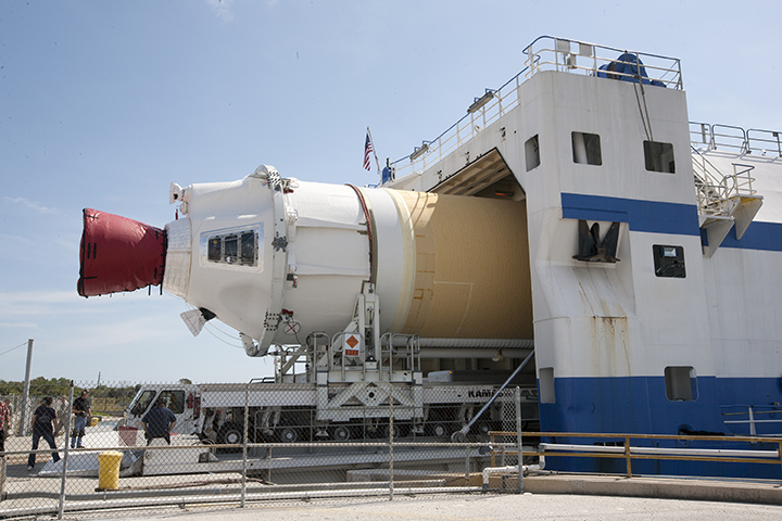Two Delta IV Heavy boosters arrive at CCAFS in leadup to ...