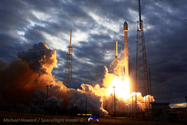 SpaceX has struggled to launch the company's Falcon 9 rocket more than twice a year. Photo Credit: Mike Howard / SpaceFlight Insider
