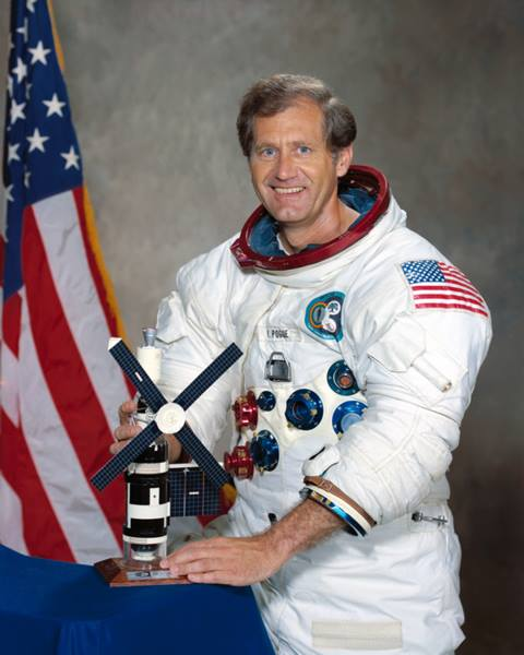 Pogue served as the pilot for the third and final mission to NASA's Skylab space station. Photo Credit: NASA