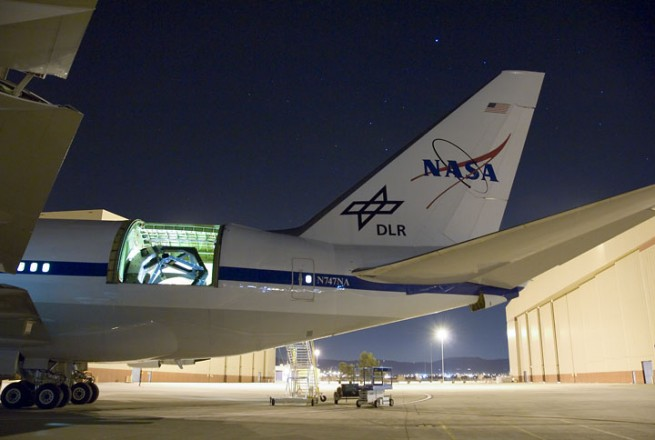 "One of the ""victims' of the FY 2015 Budget Proposal was NASA's SOFIA effort which will be mothballed next year. Photo Credit: NASA"
