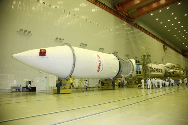 The Proton-M launch vehicle can trace its lineage back to the early days of the Space Age. Photo Credit: Tsenki / Roscosmos