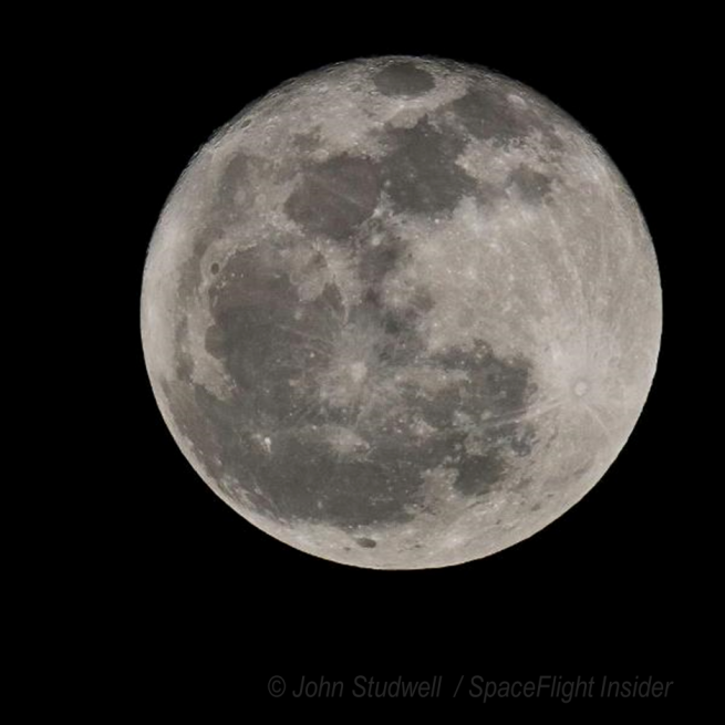 LADEE should impact the far side of the Moon on April 21. Photo Credit: John Studwell / SpaceFlight Insider