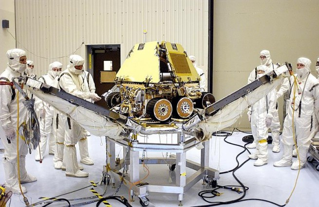 """The rover """"Spirit"""" ceased operating in 2010. Photo Credit: NASA/JPL-Caltech"""
