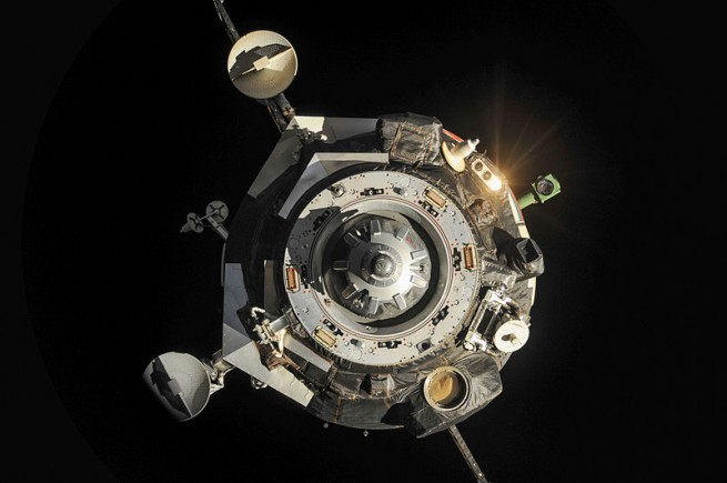 Progress spacecraft have been ferrying supplies to several space stations, such as the Soviet Salyut 6, Mir and now the ISS. The vessel's lineage reaches back to the late 1970s. Photo Credit: NASA