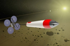 Artist's concept of sample return system for extreme environments. Image Credit: NASA