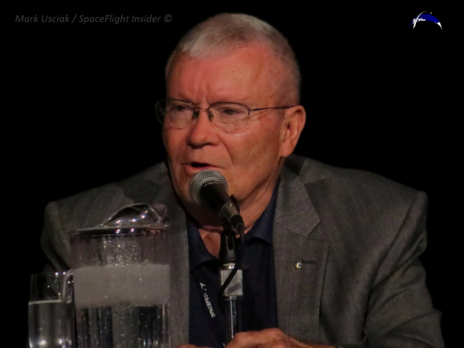 Apollo 13's Fred Haise. Photo Credit: Mark Usciak / SpaceFlight Insider