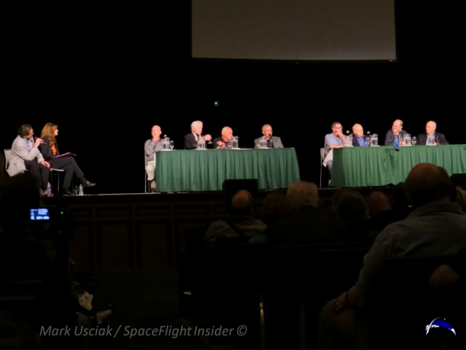 The Apollo panel at Spacefest IV held in Pasadena, California. Photo Credit: Mark Usciak / SpaceFlight Insider