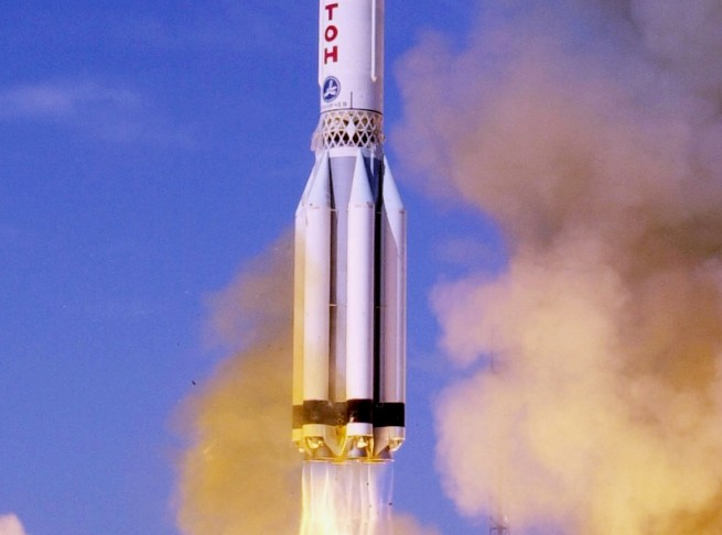 Proton rocket launch as seen on Spaceflight Insider