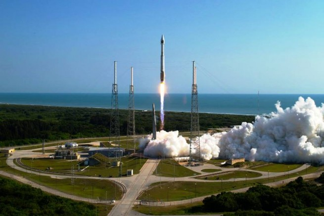 The key launch sites at Kennedy Space Center and Cape Canaveral Air Force Station are located very close to the Atlantic Ocean. Photo Credit: ULA
