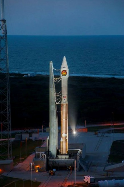 ULA carried out this launch a mere six days after sending the GPS IIF-6 satellite to orbit atop a Delta IV Medium rocket. Photo Credit: ULA