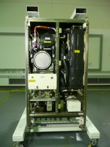 ISS Air Revitalization System rack represents the state of the art in spacecraft oxygen recovery technology. Photo Credit:  NASA