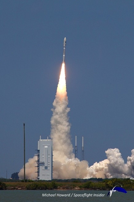 The RD-180 is used on ULA's Atlas V family of launch vehicles. Photo Credit: Mike Howard / SpaceFlight Insider