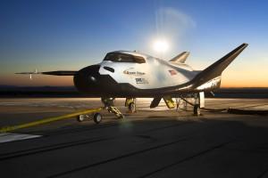 Sierra Nevada Corporations' Dream Chaser Orbital Spacecraft at NASA Dryden. Photo Credit: NASA