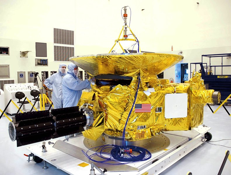 NASA's Hubble Space Telescope has been tapped to find possible targets of interest for the New Horizons spacecraft currently on its way to Pluto and then the Kuiper Belt. Photo Credit: NASA