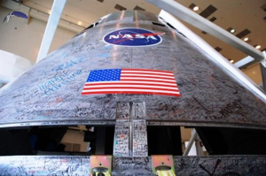 NASA has been slowly preparing Orion for its first crewed flight, currently slated to take place in the 2020s. Photo Credit: Jason Rhian / SpaceFlight Insider