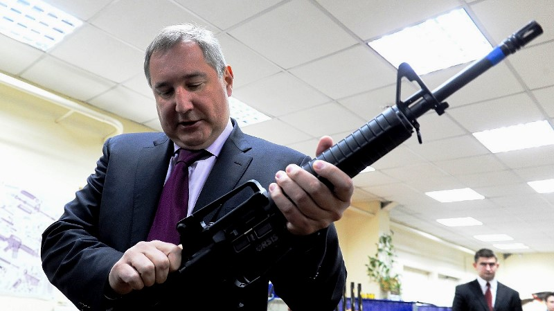 Russian Deputy Prime Minister Dmitry Rogozin has stated that Russia would cease working with the U.S. on a number of space-related initiatives. Photo Credit: Kommersant / Getty