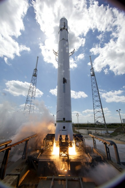 A Falcon 9 rocket lifts off from Cape Canaveral Air Force Station's Space Launch Complex 40 in Florida. Photo Credit: SpaceX