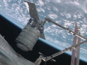 ATK's MegaFlex panels will be used on the Cygnus spacecraft later this year. Photo Credit: NASA