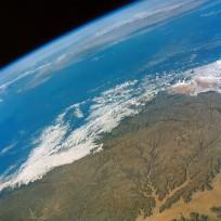 Hahramaut Plateau on the southern portion of the Arabian Peninsula.  Photo Credit: NASA
