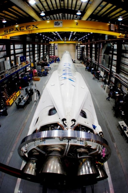 SpaceX has developed numerous systems which are used on unmanned missions and is currently developing crew-rated systems as well. Photo Credit: SpaceX