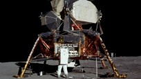 There are a number of myths surrounding the Apollo 11 Moon landing. Photo Credit: Neil Armstrong / NASA