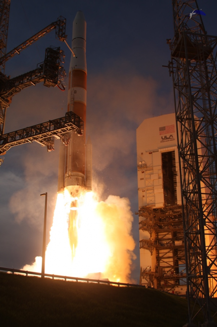 Up until recently AFSPC-4 was classified, with little known about what the mission would entail. Photo Credit: Mike Howard / SpaceFlight Insider