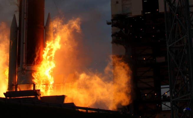 Ignition! Photo Credit: Mike Howard / SpaceFlight Insider