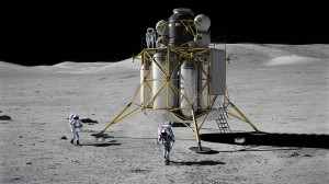 The Altair lunar lander, one of the canceled projects of the now-defunct Constellation program. Image Credit: NASA