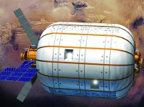 Bigelow Aerospace plans to launch an inflatable space station. Astronauts Kenneth Ham and George Zamka are the company's first astronaut recruits for the new commercial station. Image Credit: Bigelow Aerospace