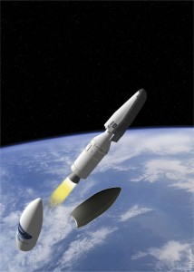 Artist's concept of IXV. Image Credit: ESA