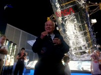 NASA Astronaut Bruce McCandless visit Kennedy Space Center to discuss his role in the Apollo 11 Moon Landing. Photo Credit: Spaceflight Insider