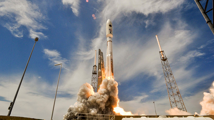 New Horizons launched on January 19, 2006 from Cape Canaveral Air Force Station's Space Launch Complex 41 in Florida. Photo Credit: United Launch Alliance
